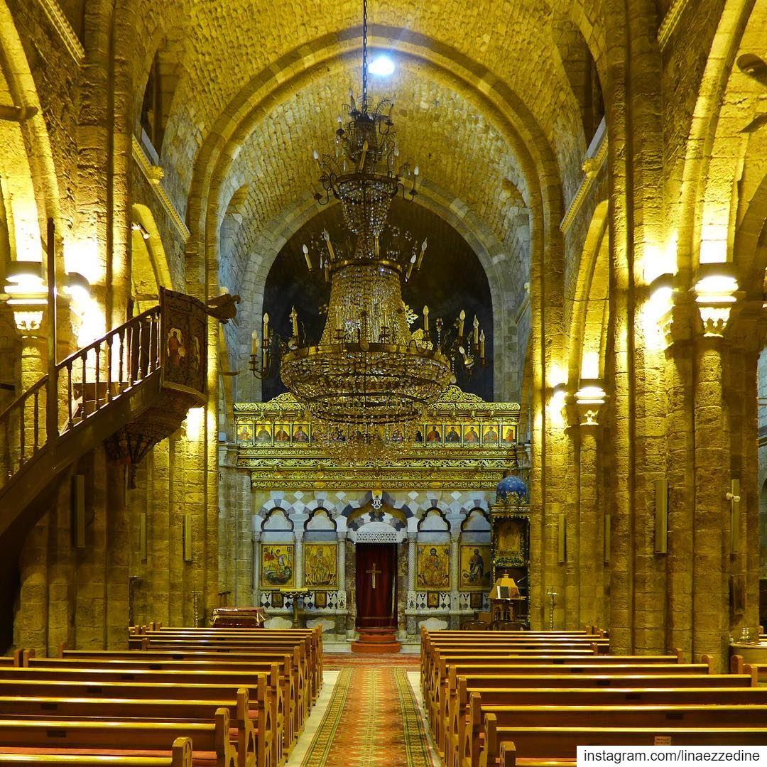 Il est venu le temps des cathédralesA breathtaking Orthodox cathedral... (Tripoli, Lebanon)