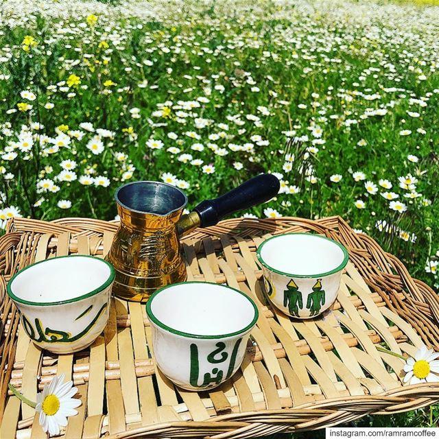 صباح الورد و نسمة البرد صباح القهوة و رائحة الارض المبللة بالمطر....... (Lebanon)