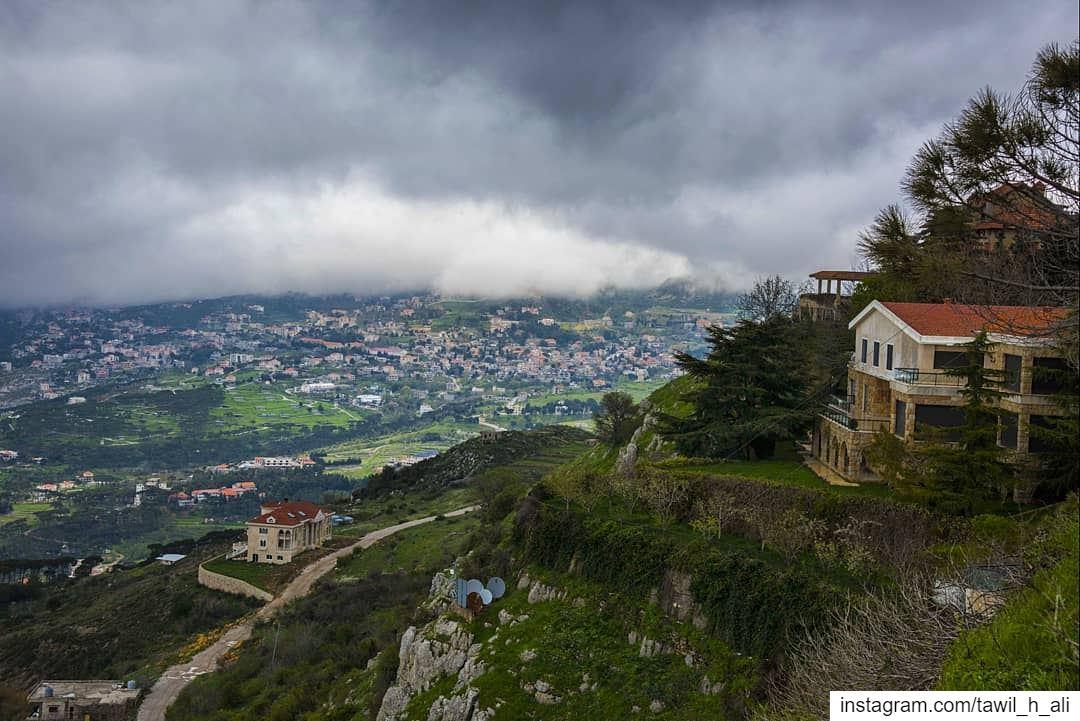 April Mood 🌦 earthday ➡️------- landscape nature ... (Sawfar, Mont-Liban, Lebanon)