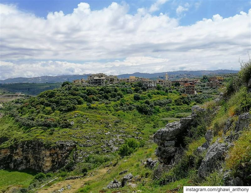 The beauty of southlebanon 💚______________________________________... (Qana, Lebanon)
