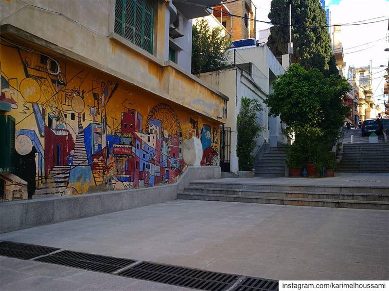 StreetArt Graffiti WalkIn Beirut ... (Achrafieh, Lebanon)
