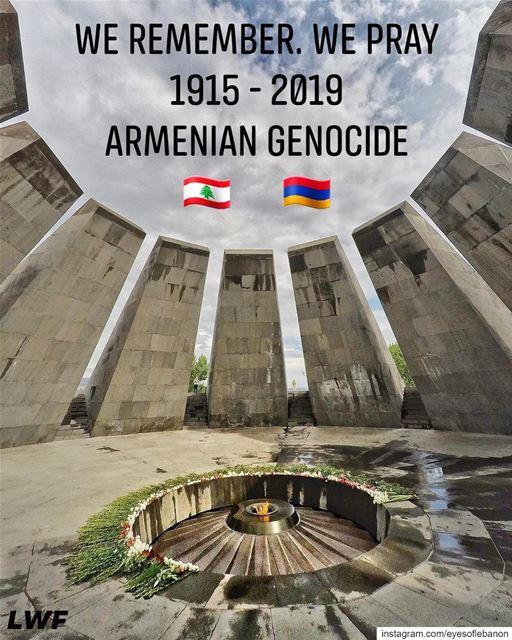 ٢٤ نيسان، ذكرى الإبادة الأرمنيّة التي قامت بِها الإمبراطورية العثمانية والت (Beirut, Lebanon)