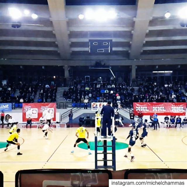 Lebanon Beirut Volleyball Speedball Chekka DusanPetkovic ... (مجمع العماد اميل لحود الرياضي العسكري)
