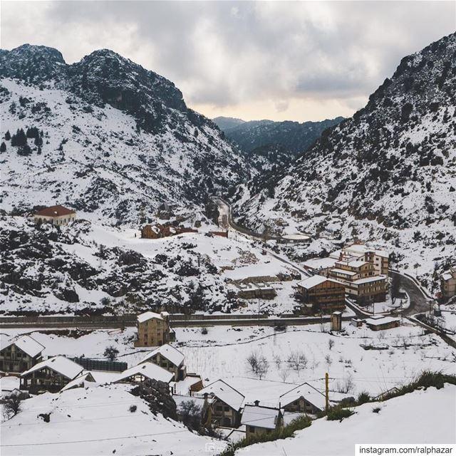 Easter, winter edition ❄️ 🏔 🌼 laqlouq Ehmej winter / spring 2019 ..... (El Laqloûq, Mont-Liban, Lebanon)