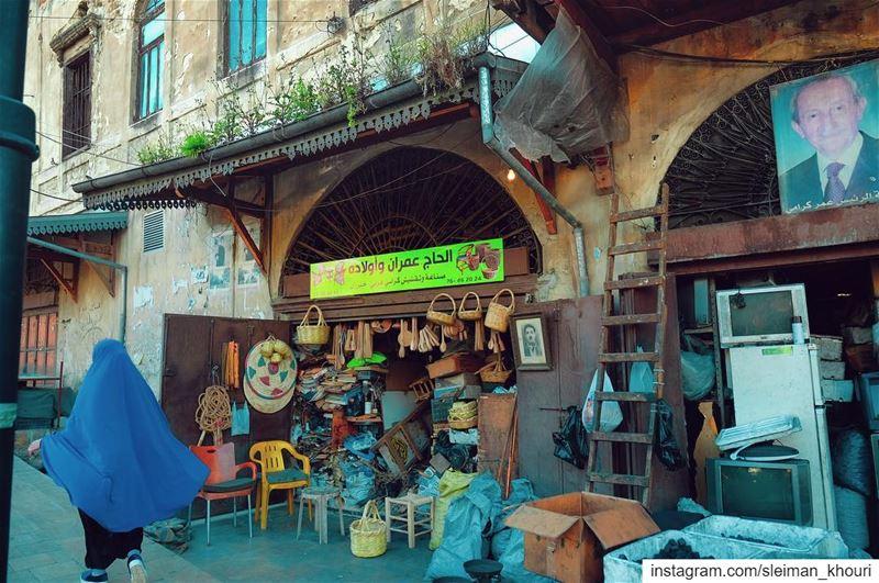 𝕋𝕙𝕖 𝕠𝕝𝕕 𝕤𝕥𝕣𝕖𝕖𝕥𝕤 𝕠𝕗 𝕋𝕣𝕚𝕡𝕠𝕝𝕚 🇱🇧➖➖➖➖➖➖➖➖➖➖➖—————————— (Tripoli, Lebanon)