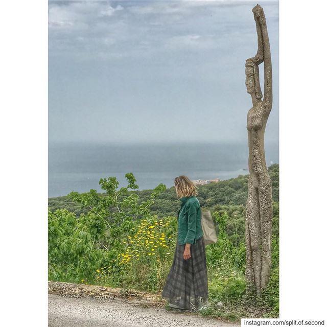 Rachana lebanon basbous sculpture lebaneseartist artist art nature... (Rachana)