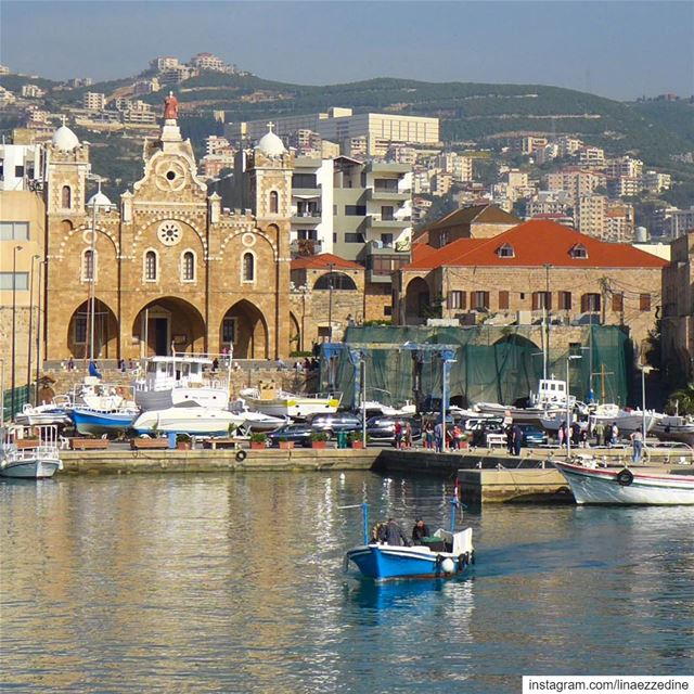 A blessed fishing port under the protection of St. Stephen and its... (Mina-batroun)