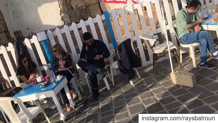 Live from RAY's Morning mood 😍 lebanon batroun bahsa beach ... (RAY's Batroun)