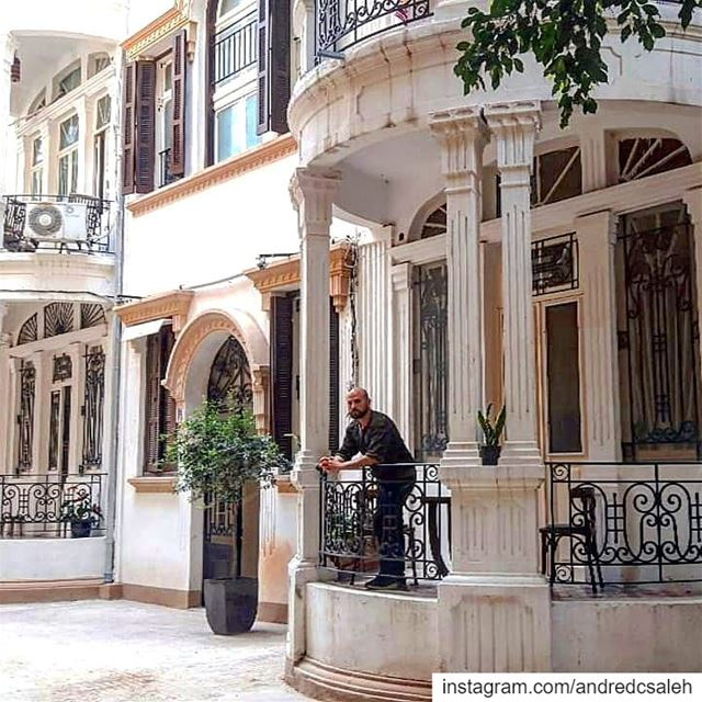 When in Beirut morningmotivation  architecture  artdeco  balcony  design ... (Gemmayze, Beirut)