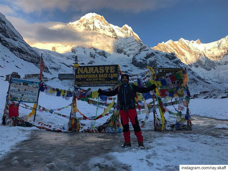 Annapurna base camp‼️25 April 2019..................... (My Paradise)