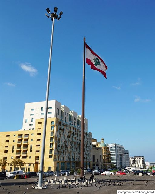 🇱🇧🇧🇷 A Praça dos Mártires não é somente a maior praça pública de... (Martyrs' Square, Beirut)