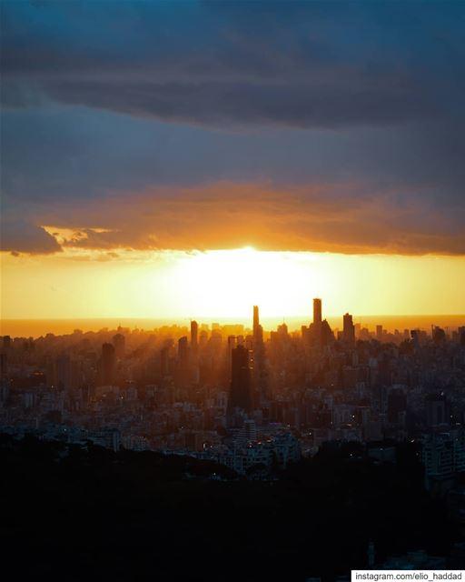 Beirut 🇱🇧 Lebanon Sunset Sun Sky LiveLoveBeirut LiveLoveLebanon ... (Beirut, Lebanon)