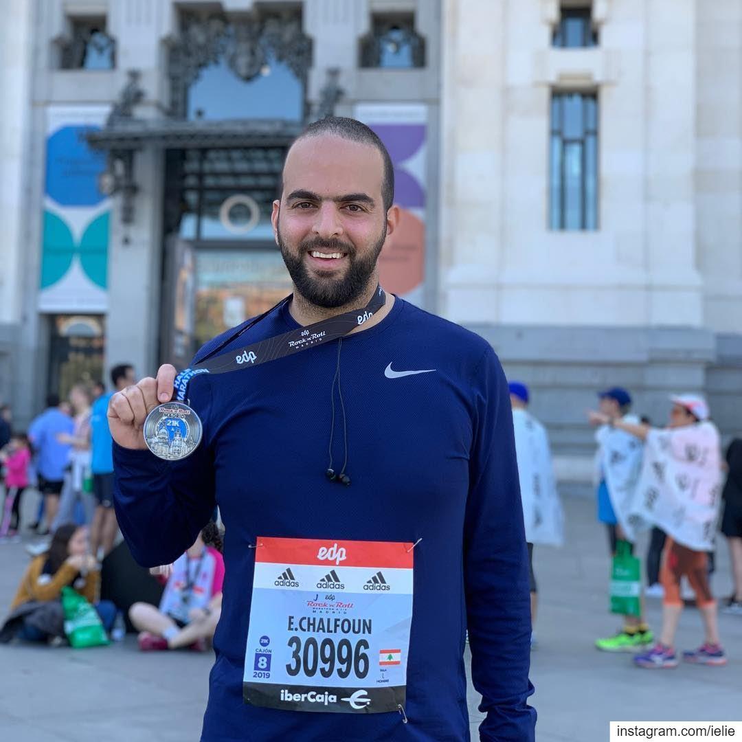Fastest way to see the city... run it. EDP rocknrollmarathon Rocknroll... (EDP Rock 'n' Roll Madrid Maratón & 1/2)