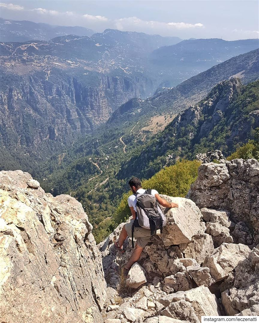 Oh God I Am Marching On Pain,please forgive me.... (Jabal Moussa Biosphere Reserve)