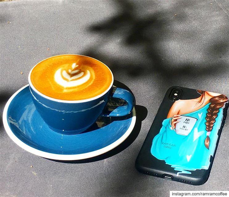 لم يتمكن احد من لمس قلبي مثلما فعلت انت... coffeequotes ramramcoffee ... (Kalei Coffee Co.)