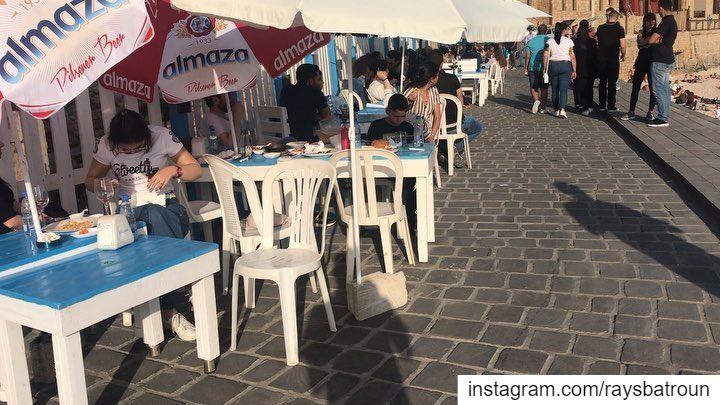 Chilling time at RAY's lebanon batroun bahsa beach raysbatroun ... (RAY's Batroun)