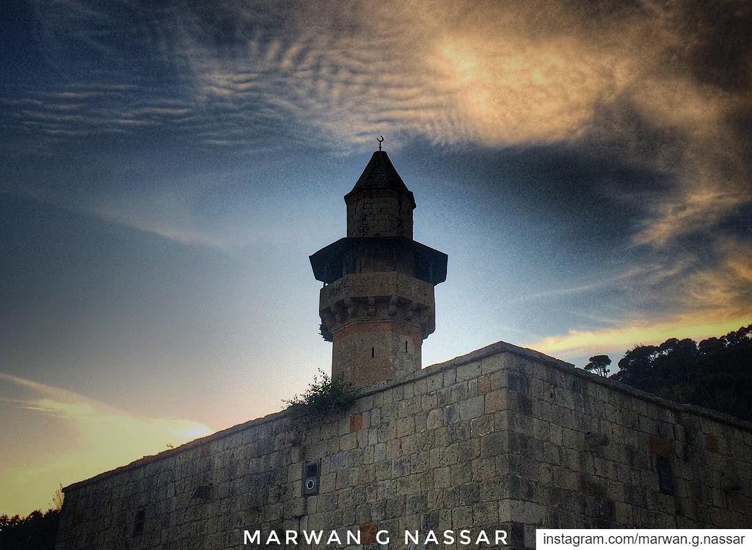 Prince Fakhruddin or Deir al-Qamar Mosque 🕌 located in the town of Deir... (Deïr El Qamar, Mont-Liban, Lebanon)