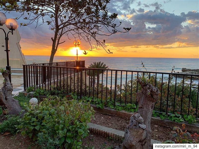 sunset sunrise nature instagood instapic instasummer instafollow ... (Byblos, Lebanon)