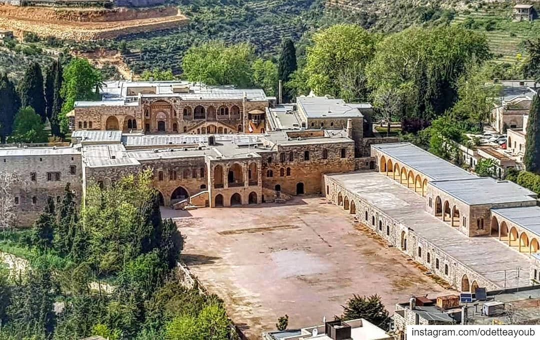 Beiteddine palace built in 1788 by emir bachir II...