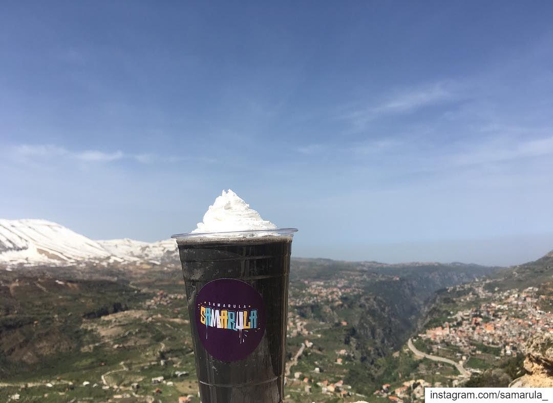 You're so yummmyyyy 😋😋 samarula smoothie new drink menu charcoal ... (ارز الرّب)