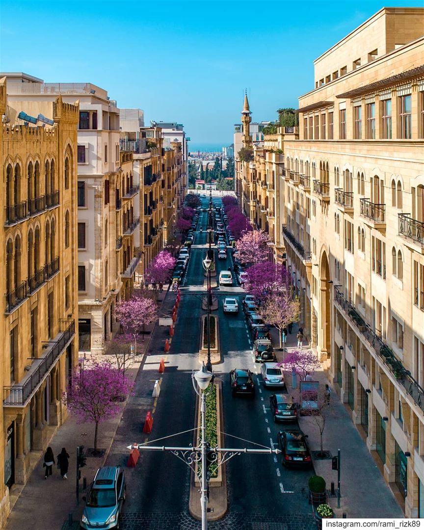 Spring vibes 🌸... Beirut Lebanon dji drones quadcopter aerial ... (Beirut, Lebanon)