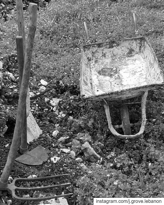 Vintage tools ⛏🌱 Farmer Farmers FarmerLife Land Earth Tools Farm ... (Jezzîne, Al Janub, Lebanon)