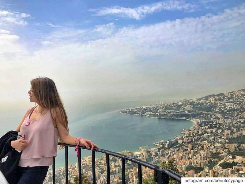 Jounieh from Harissa - جونية من حريصا beirut byblos lebanon ...