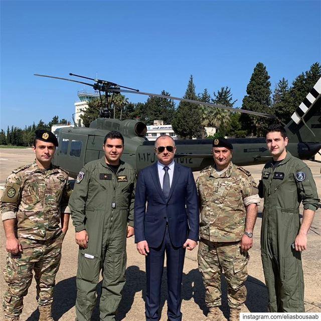 زيارة صباحية لقاعدة القليعات الجوية في عكار، و شرح من الضباط الطيارين والفن (القليعات عكار)