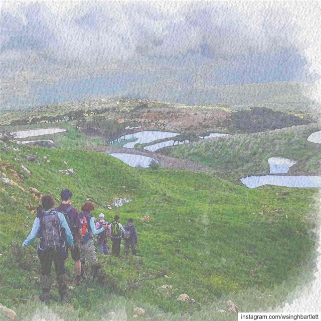 """""""Abruptly, clouds blow in from the sea and rise up the flanks of Mount... (Jabal Fâloûgha)"""