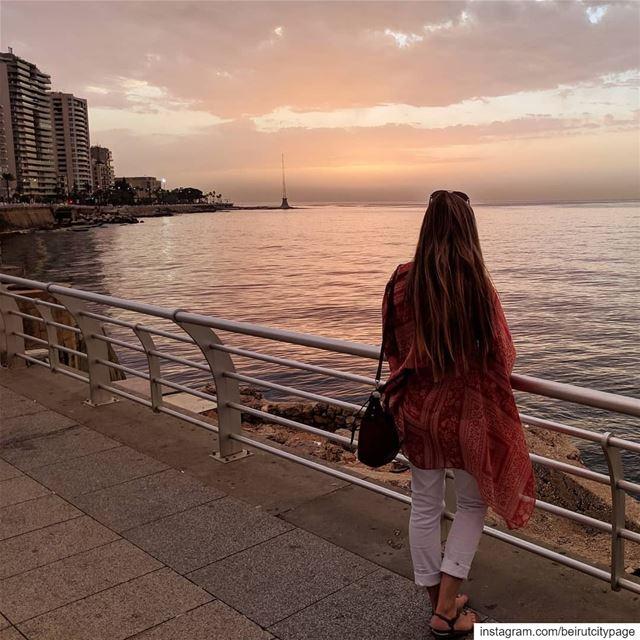 بيروت.. الواجهة البحرية beirut byblos jounieh travel lebanon ...