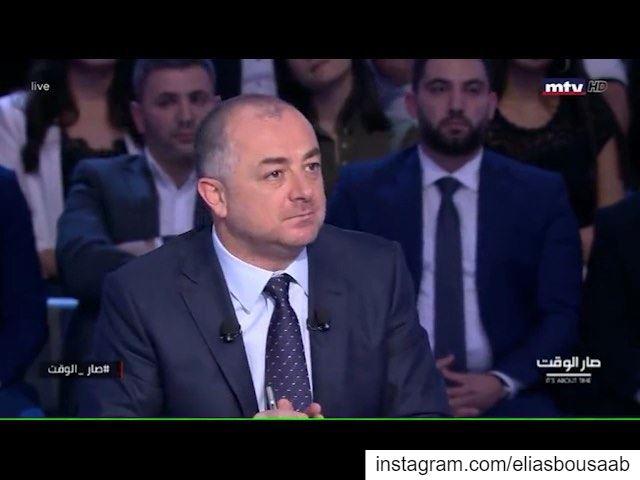 """عن مكافحة الفساد: """"أياً يكن، ولو إلو علاقة بالياس بو صعب شخصياً، ما في غطاء (Lebanon)"""