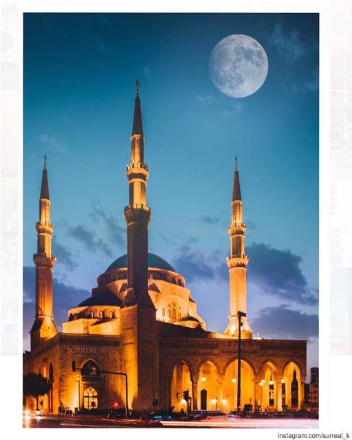 يَا أَيُّهَا الَّذِينَ آمَنُوا كُتِبَ عَلَيْكُمُ الصِّيَامُ كَمَا كُتِبَ عَ (Mohammad Al-Amin Mosque)