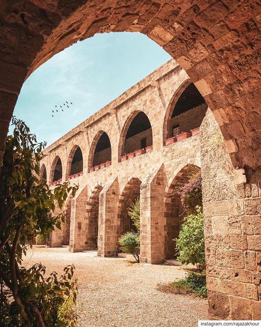 Khan al-Franj.. saida lebanon...... livelovearchitecture ... (Sidon, Lebanon)
