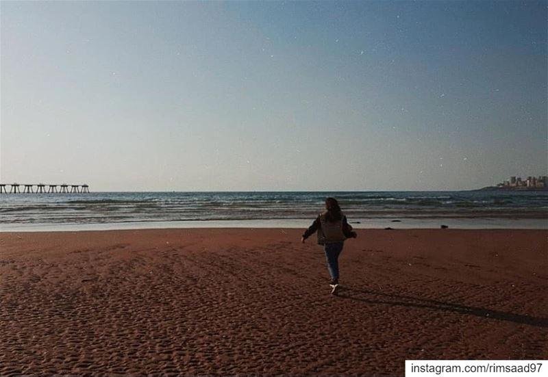 Cynosure | ☄••••••• lebanon beirut sea sand nature ... (Beirut, Lebanon)