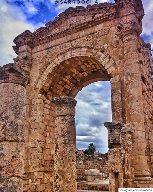 The Triumphal Arch of Tyre is one of the city's most impressive... (Tyre, Lebanon)