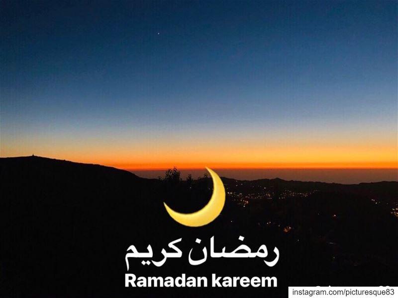 شهر المحبة والخير والبركة ramadankareem رمضان_كريم