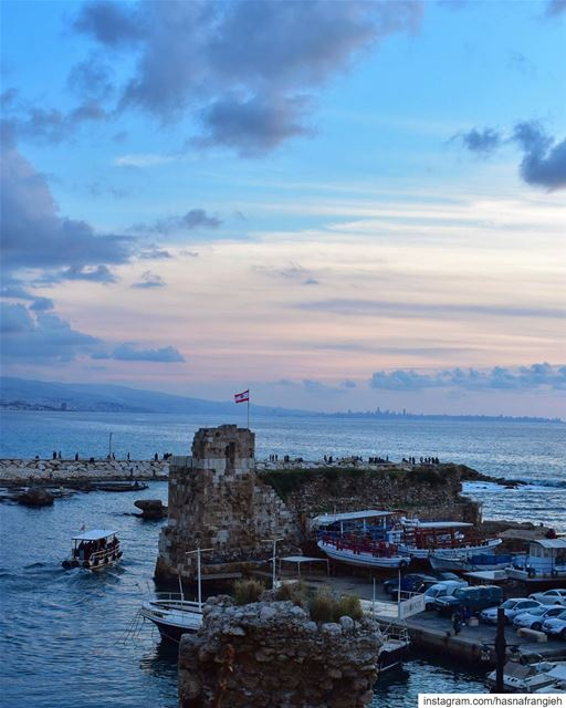Despite all the darkness, Be the light you wish to see 💫... (Byblos, Lebanon)