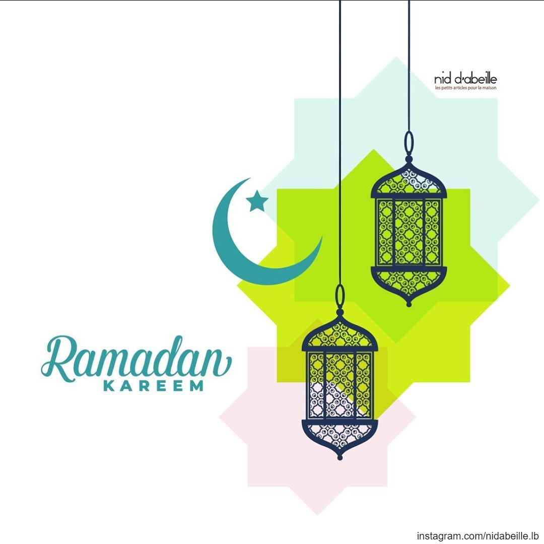 Have a Blessed Ramadan 🙏 Write it on fabric by nid d'abeille blessed ...