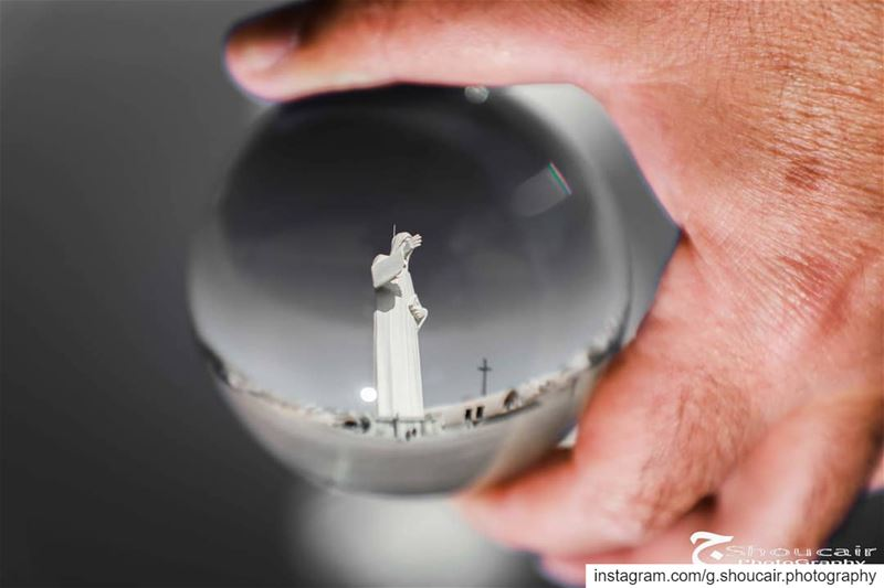 Seeing it from an another perspective... May St. Charbel's blessings... (Saint Charbel-Faraya)