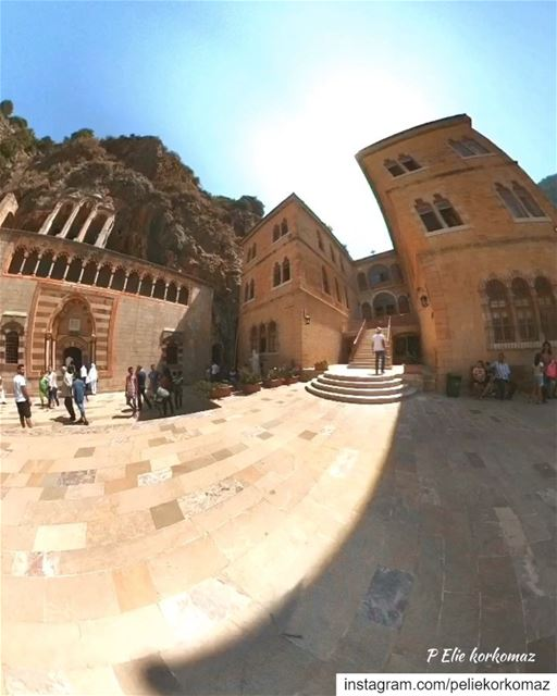 360 degree photo of St Anthony Monastery kozhaya... (Mar Mtanios Kozhaya)