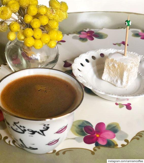 وباتَ المساء بك يا رمضان مُزهراً 🌙☕️... ramramcoffee turkishcoffee ...