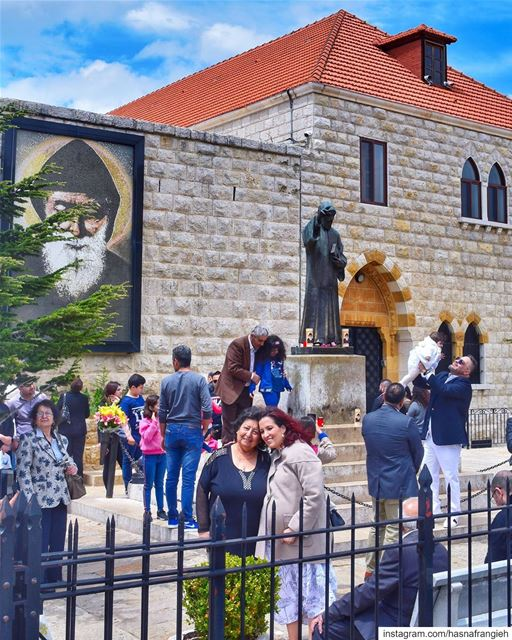 On May 8th 1828, in the village of Bekaa Kafra in North Lebanon, Saint... (Mazar Saint Charbel-Annaya)