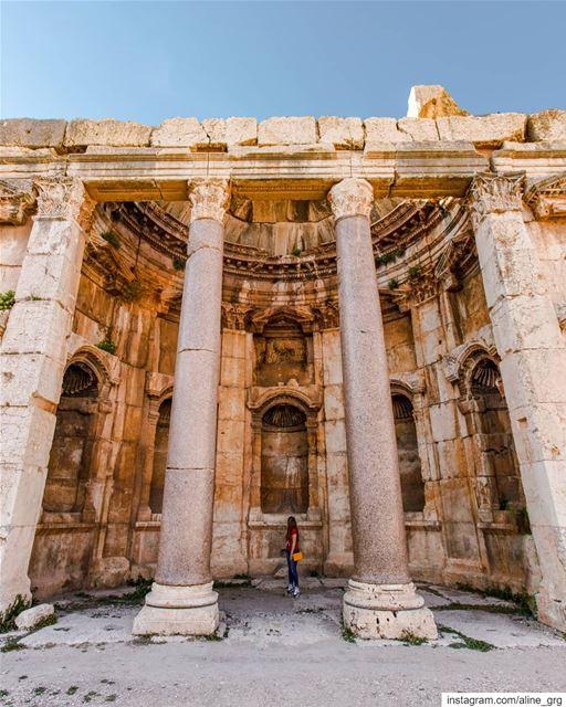 ° بَعلبِك 🏛 ° romain ruin baalbeck history architecture ... (Baalbek, Lebanon)