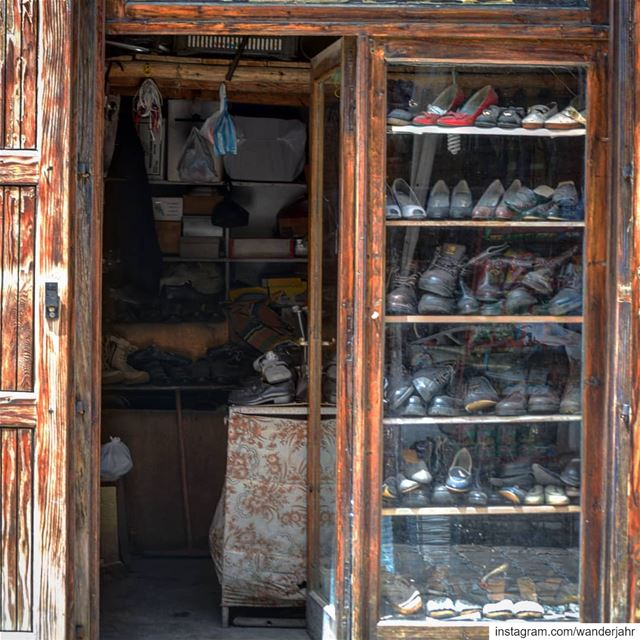 Museum of Shoes! 👞👠👡👢 souk village lebanon insta_lebanon mylens ...