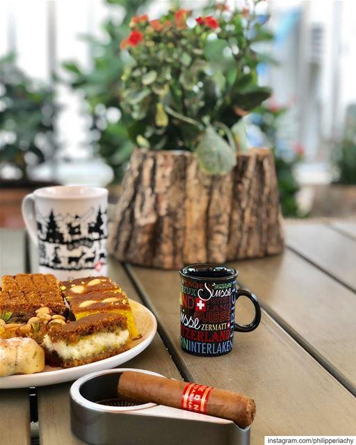 Partagas D6 with Espresso.... cigar cigars partagas espresso sweet cup... (Al Ajman)