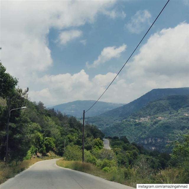 The road to... (دير المخلص العامر)