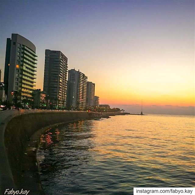 _________________________________💠 Photo of the day 9May 2019📍Location... (Corniche El Manara)