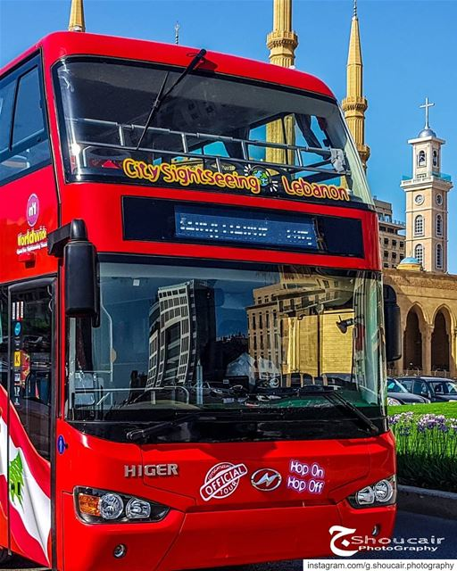 Here they are rolling brightly and shiny on Beirut's roads!The... (Downtown Beirut)