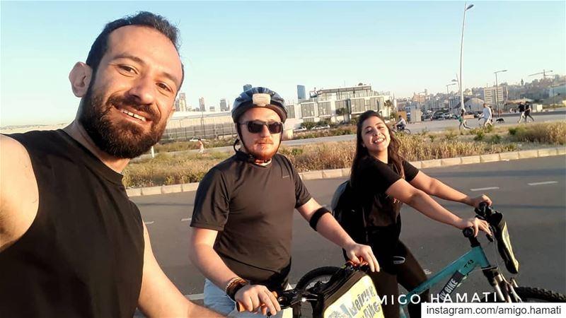 🇱🇧 Biking day . uglybeirut beirut lebanonutold biking ... (Beirut, Lebanon)
