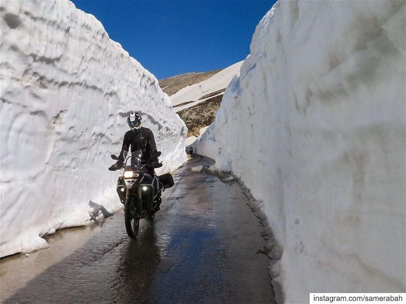 Snow tunnels📸 @feghali.joe .......... gsadventure adventure ... (3youn El Simen)